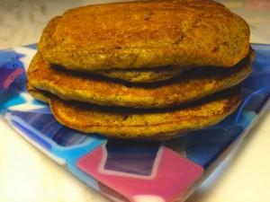 Recipe for Cricket Flour Pacakes