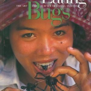 man eats bugs