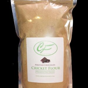 Chocolate Cricket Flour