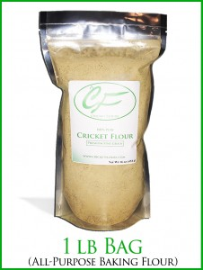 Cricket Flour Baking