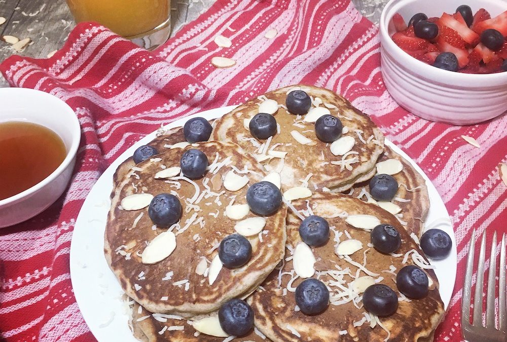 Cricket Flours Protein Pancakes Recipe