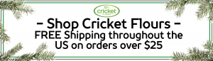Cricket Flours for Sale