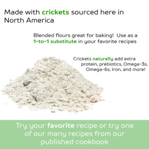 How to Bake with Crickets