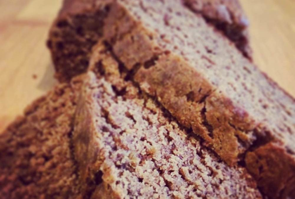 Chocolate Espresso Banana Bread with Cricket Flours