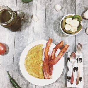 Cricket powder recipe for breakfast