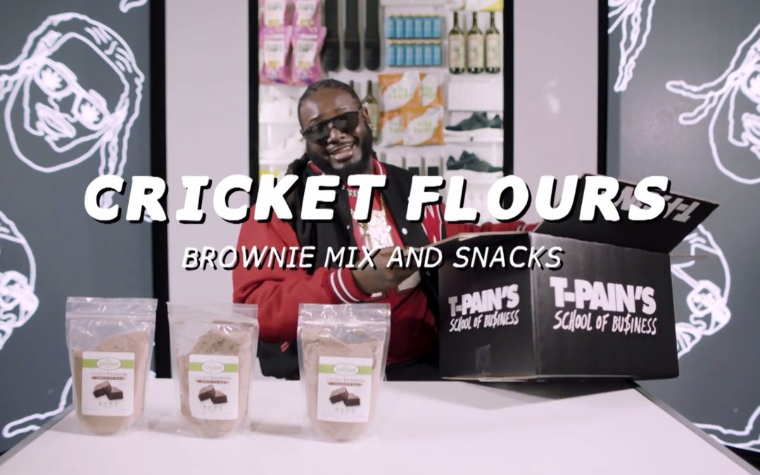 UnBoxing Video with T-Pain on Fuse TV – Featuring Cricket Brownies and Roasted Crickets