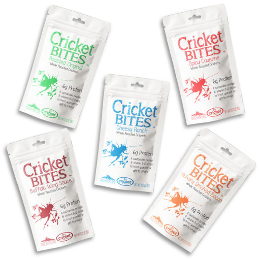 Eat Bugs and Edible Insects with Cricket Flours