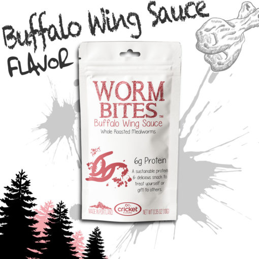 Eat Bugs and Roasted Mealworms