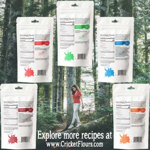 Nutrition for Cricket Bites Roasted Crickets Protein