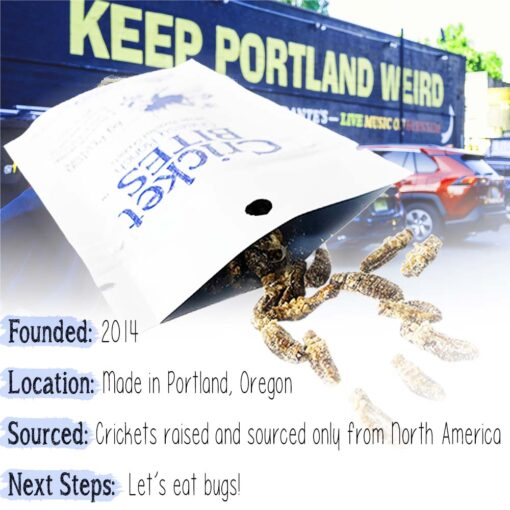 Keep Portland Weird Edible Insects