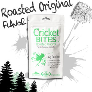 Eat Bugs and Roasted Crickets
