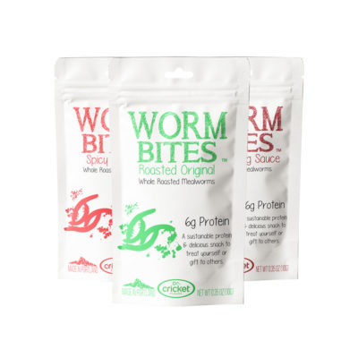 Buy Roasted Mealworms